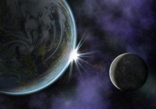 行星和月球系统