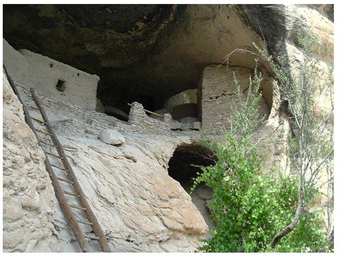 科罗拉多梅萨维德的悬崖住宅; 图片来源:Cherei J. McCarter