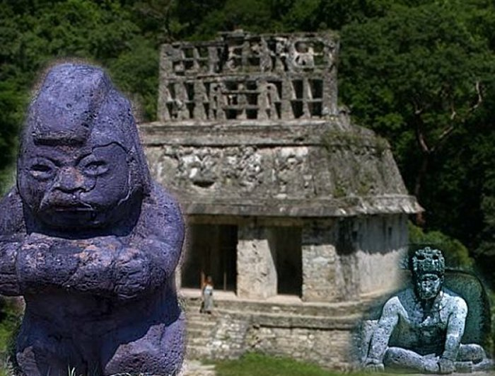 La Venta是现今墨西哥塔巴斯科州的奥尔梅克文明的哥伦比亚前考古遗址。