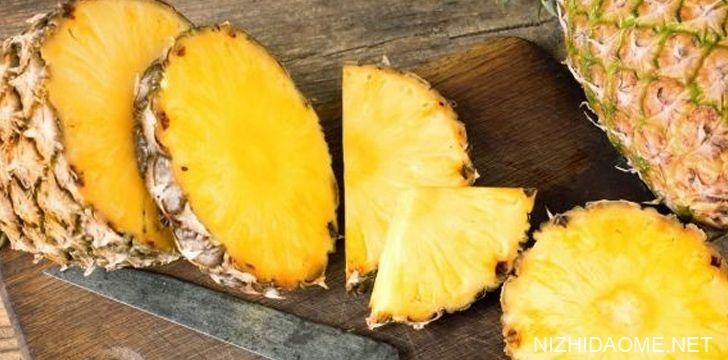 片新鲜的菠萝