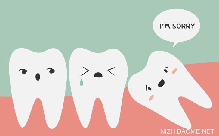 智慧的牙齿是没有用的!