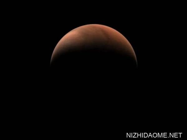天文一号拍摄 火星侧脸亮相 网友:太漂亮了