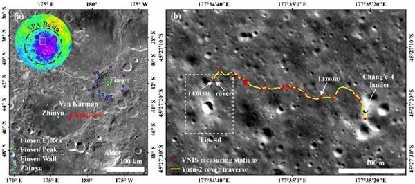 嫦娥四号发现了一堆1600万年前的石头