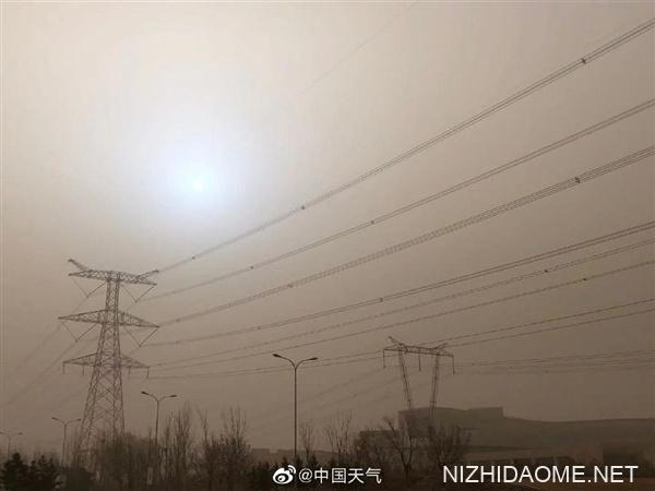 沙尘和大风凌晨已进京:预计持续时间超12小时