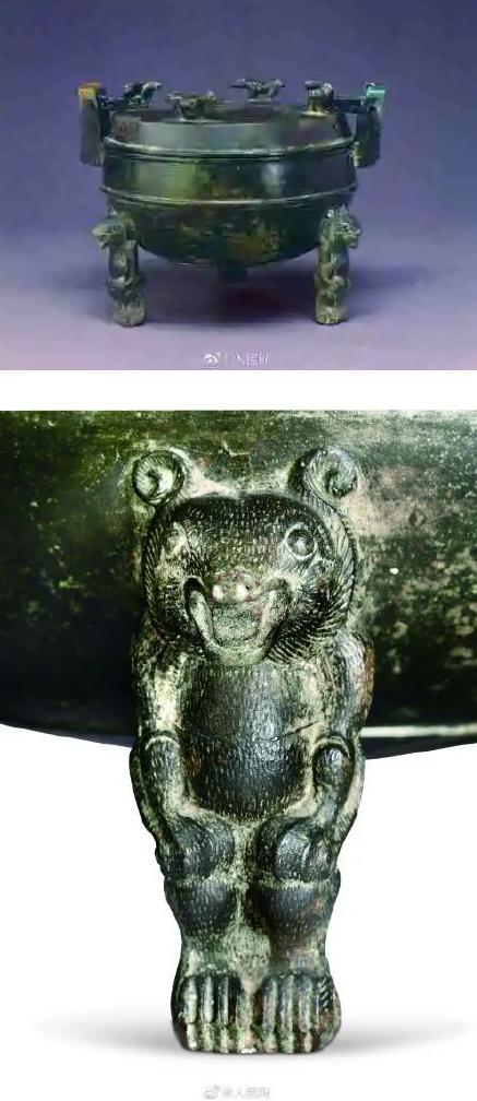 2000年前的小熊高压锅火了:古人构思精巧 工艺令人赞叹