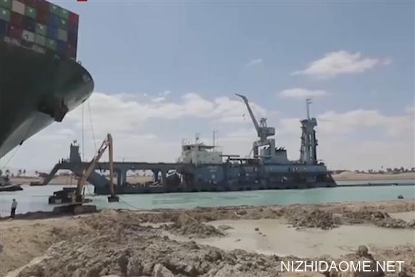 """""""长赐""""号再度封锁苏伊士运河?已完全恢复正常"""