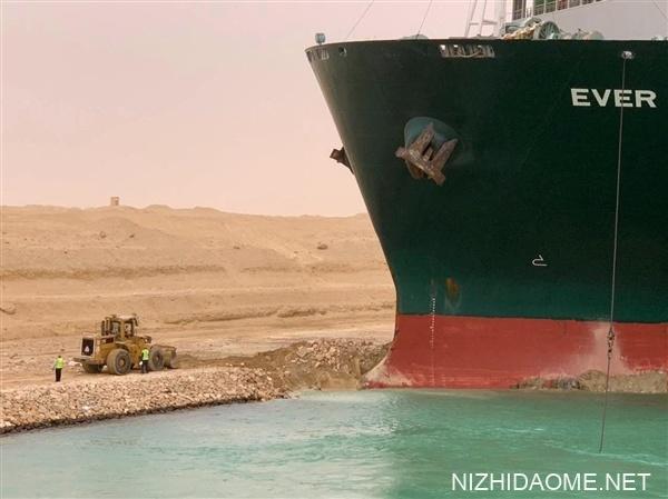 400米巨轮堵塞苏伊士运河:谁来承担损失?