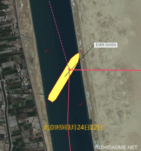 """堵塞苏伊士运河的货轮成功上浮!""""长赐号""""船尾已离开河岸"""