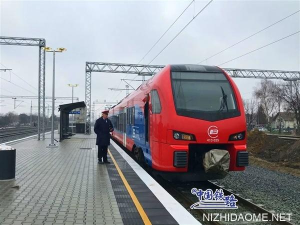 中国承建:匈塞铁路又通了一段