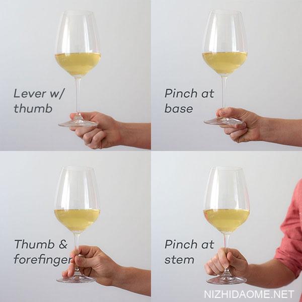 红酒杯的正确拿法 红酒杯怎么拿
